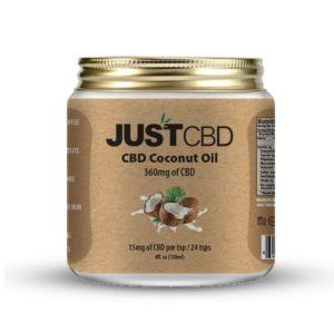 Coconut Oil infused with CBD