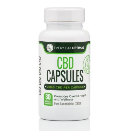 Every Day Optimal Pure CBD Capsules