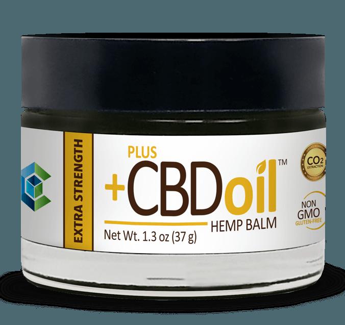 PlusCBD Oil Extra Strength Hemp Balm