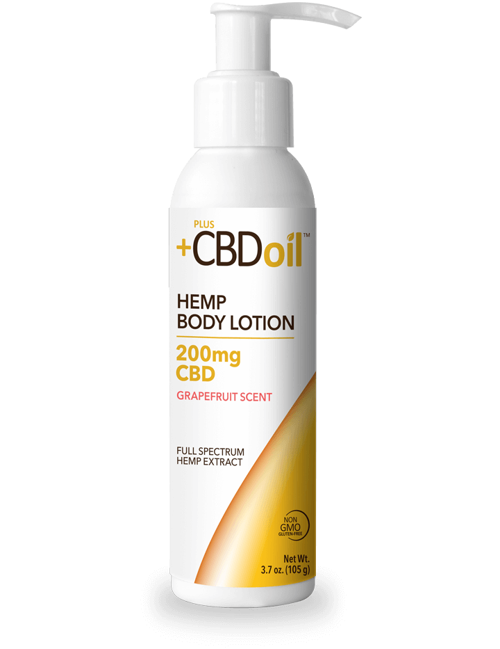 PlusCBD Oil Hemp Body Lotion