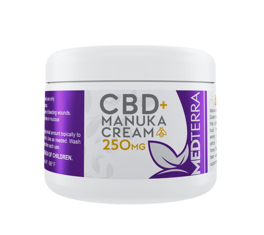 Medterra CBD + Manuka Cream