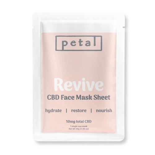 Petal Revive CBD Face Mask Sheet