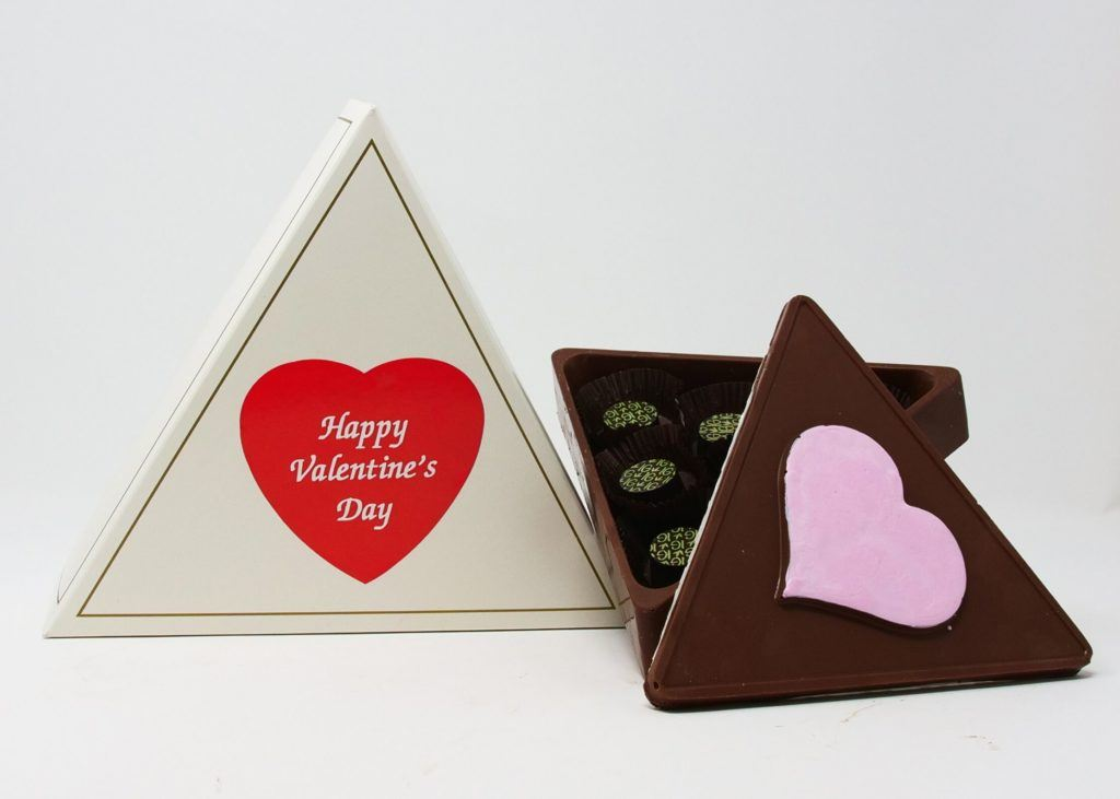 Incentive Gourmet's chocolate box infused with CBD.