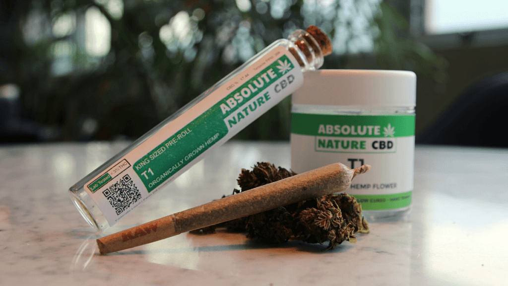 Making CBD sustainable requires a number of significant changes to a brand's business model.Photo: An assortment of Absolute Nature CBD hemp flower and pre-rolls in more sustainable packaging.