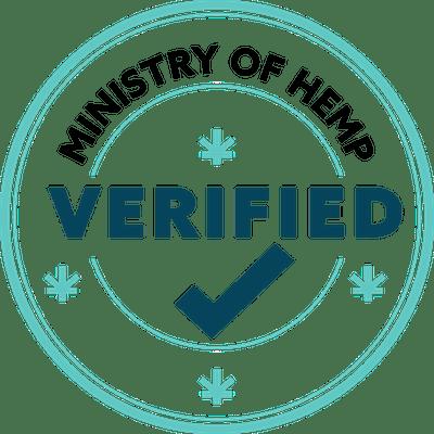 Ministry of Hemp Verified seal