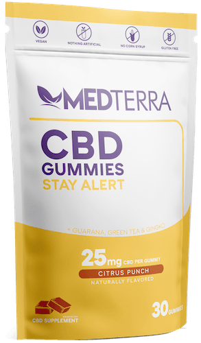 Medterra Stay Alert CBD Gummies (Ministry of Hemp Official Review)