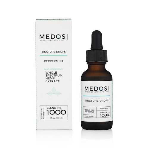 Medosi Tincture Drops (Ministry of Hemp Official Review)