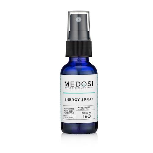 Medosi Energy Spray 180 (Ministry of Hemp Official Review)