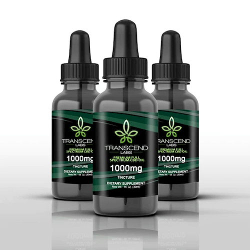 Transcend Labs Full-Spectrum CBD Oil (Ministry of Hemp Official Review)