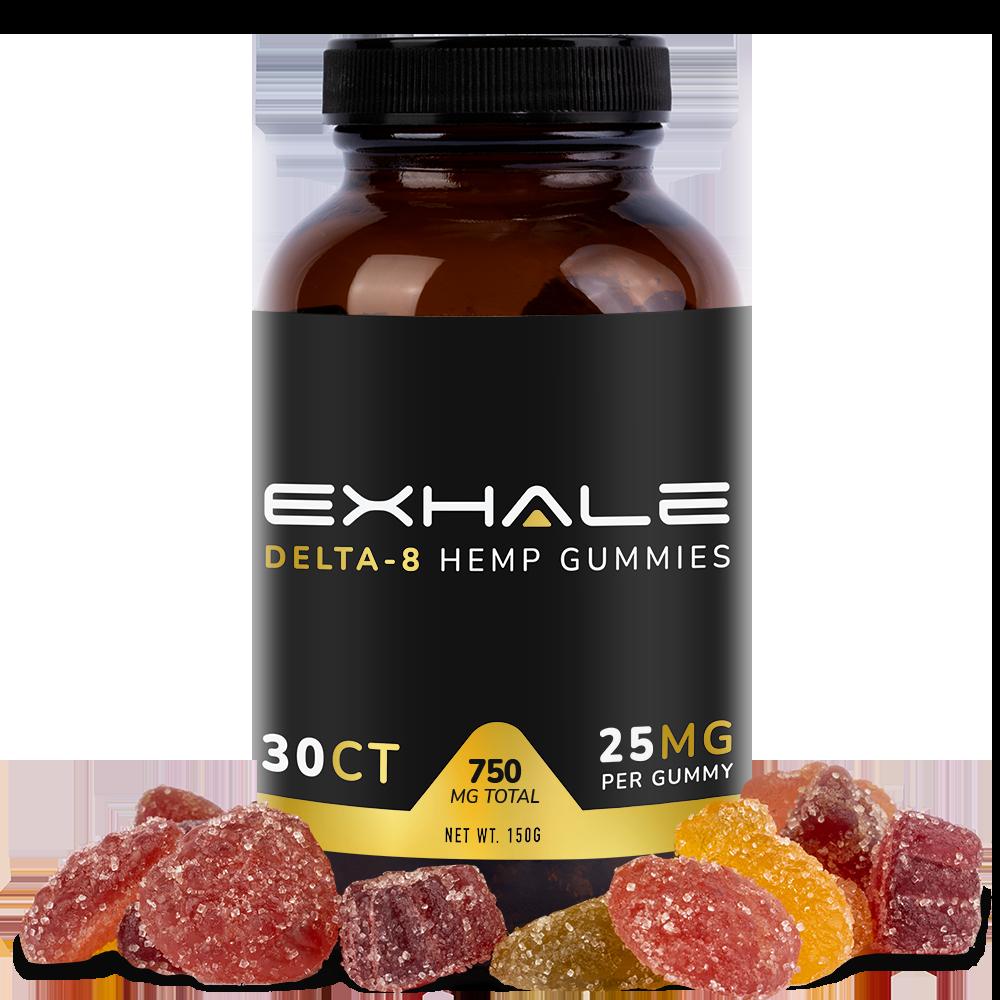 Exhale Delta-8 Gummies